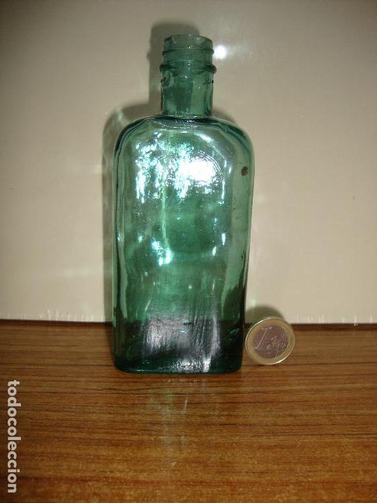 (TC-162) PEQUEÑA BOTELLA FRASCO FARMACIA (Antigüedades - Cristal y Vidrio - Farmacia )
