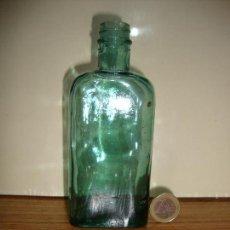 Antigüedades: (TC-162) PEQUEÑA BOTELLA FRASCO FARMACIA . Lote 159502062