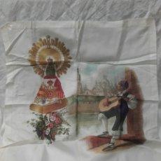 Antigüedades: ANTIGUO PAÑUELO DE LA VIRGEN DEL PILAR. Lote 159553628