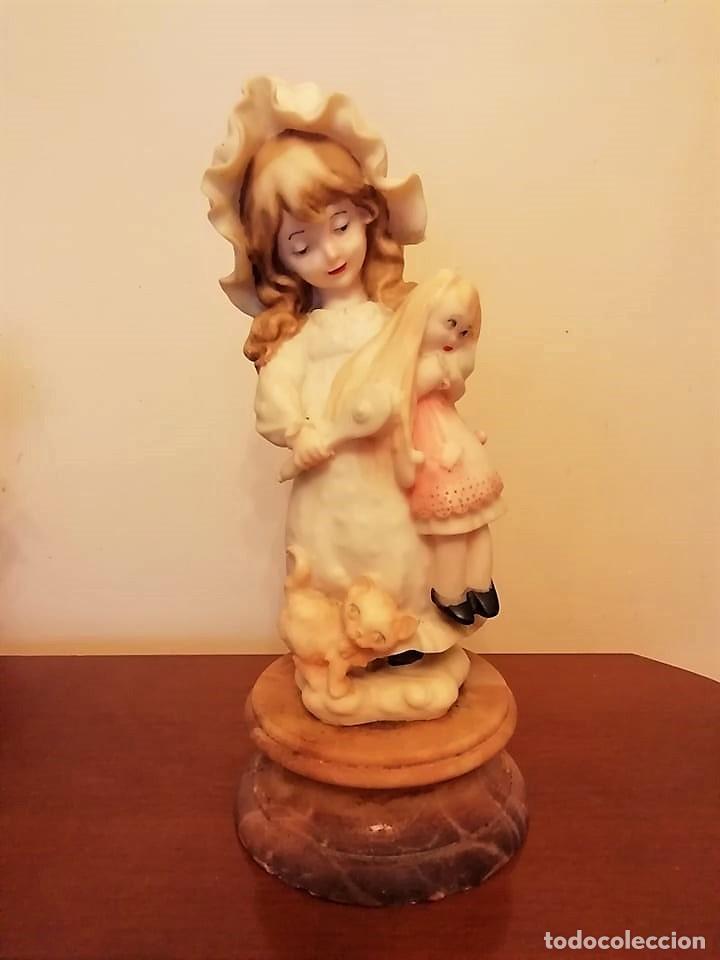 FIGURA ALABASTRO MARTISA SL (Antigüedades - Hogar y Decoración - Figuras Antiguas)