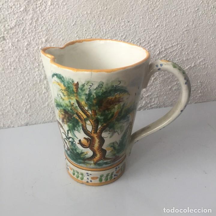 JARRA DE CERÁMICA MANISES ALFAR VICENTE GIMENO AÑOS 20 (Antigüedades - Porcelanas y Cerámicas - Manises)
