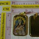 Antigüedades: MEDALLA MEDALLITA RELIGIOSA. DEVOCIONES DE LA VIRGEN EN EL MUNDO. BOLIVIA SRA CANDELARIA COPACABANA. Lote 159588114