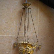 Antigüedades: LAMPARA VOTIVA. Lote 159610534