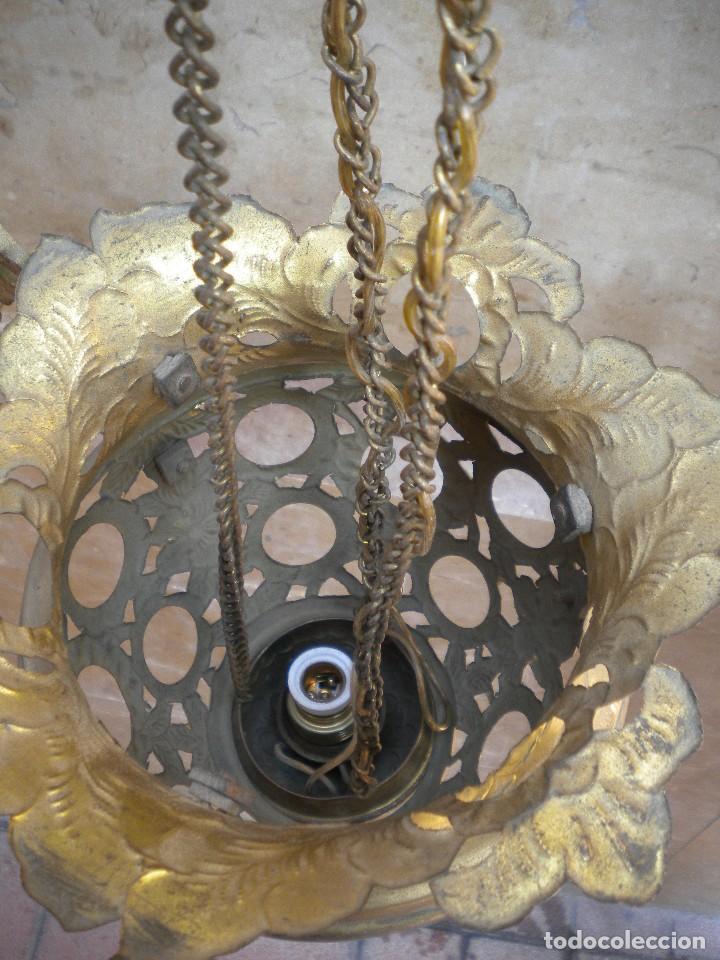 Antigüedades: LAMPARA VOTIVA - Foto 4 - 159610534