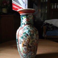 Antigüedades: JARRÓN DE PORCELANA JAPONESA, SATSUMA.. Lote 159632018