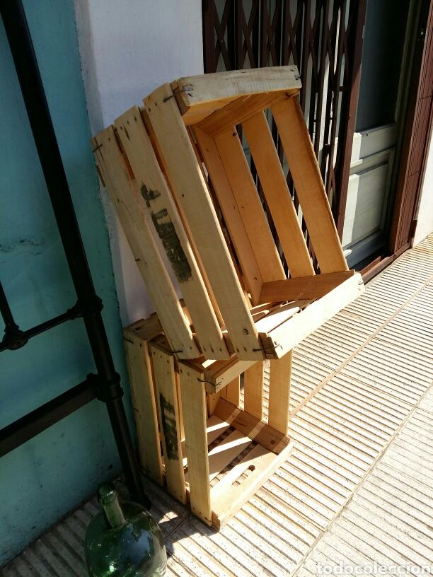 CAJAS DE FRUTA MADERA (Antigüedades - Técnicas - Rústicas - Agricultura)