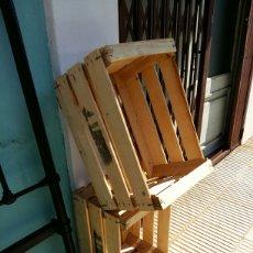 Antigüedades: CAJAS DE FRUTA MADERA. Lote 159634964