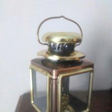 Antigüedades: FAROL CON QUEMADOR AÑOS OCHENTA. Lote 159635798