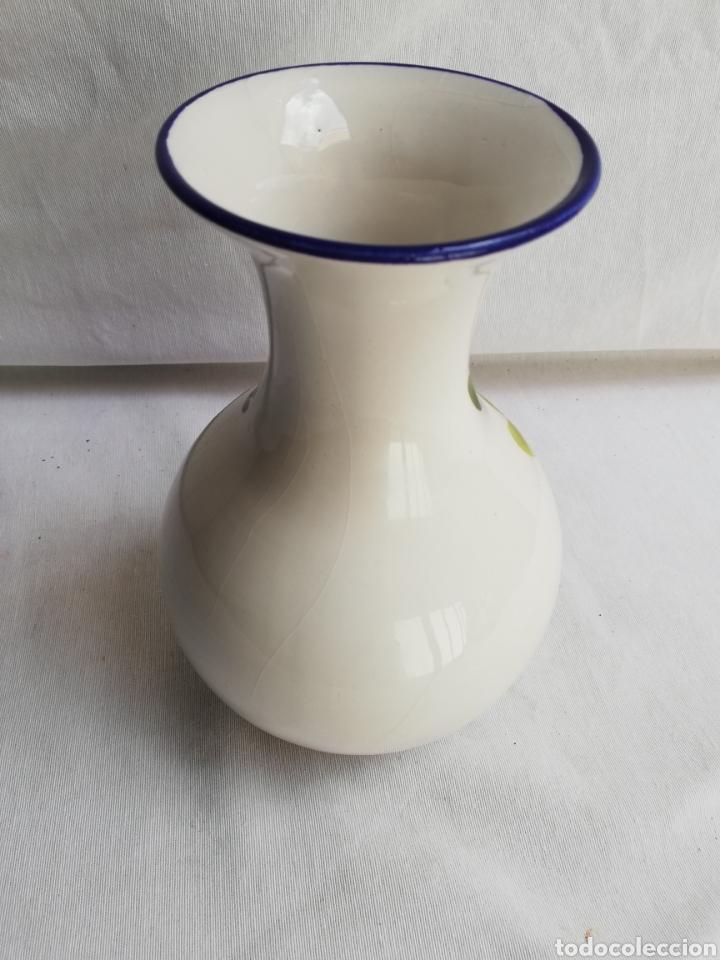 Antigüedades: JARRON JARRA DE CERAMICA. PINTADA A MANO. - Foto 5 - 159642021