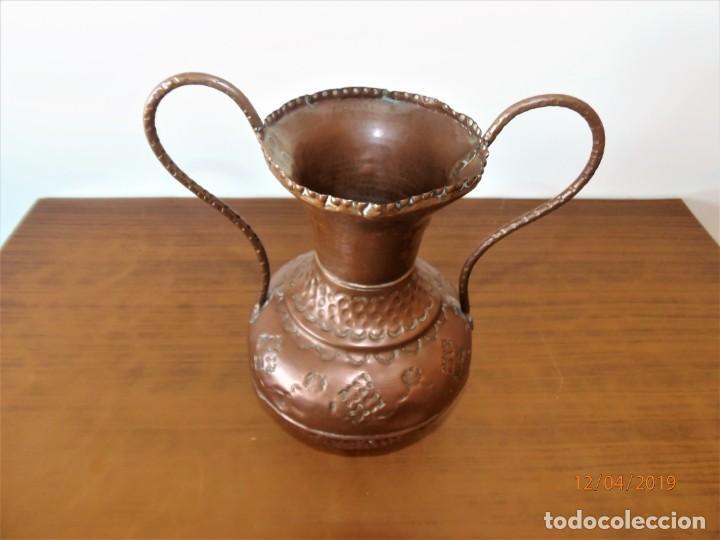 Antigüedades: Antigua ánfora en cobre - Foto 2 - 159642522
