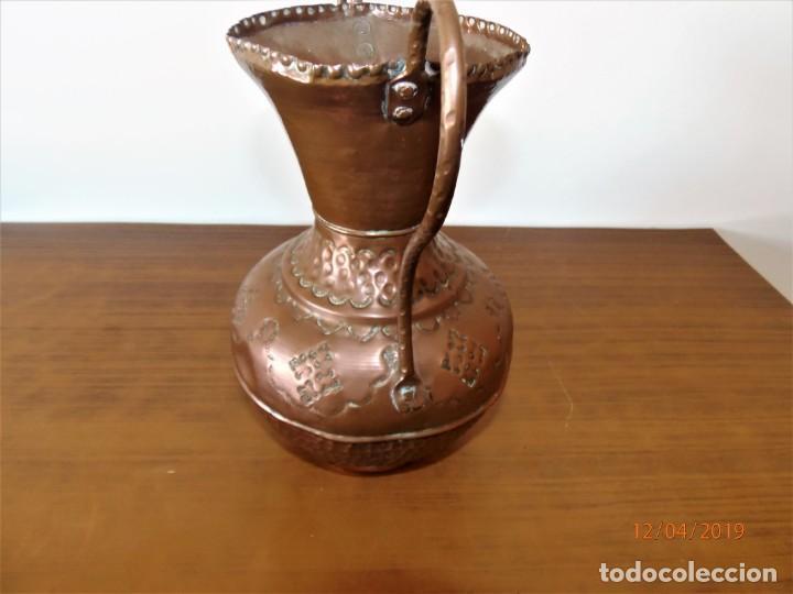 Antigüedades: Antigua ánfora en cobre - Foto 4 - 159642522