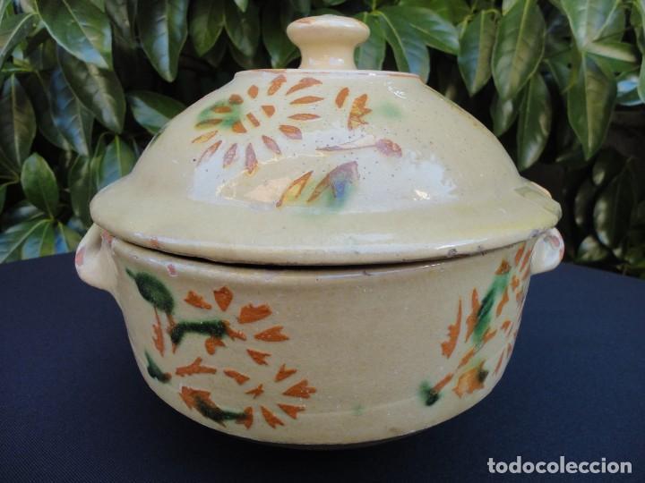 ALFARERÍA CATALANA: SOPERA DE LA BISBAL (Antigüedades - Porcelanas y Cerámicas - La Bisbal)