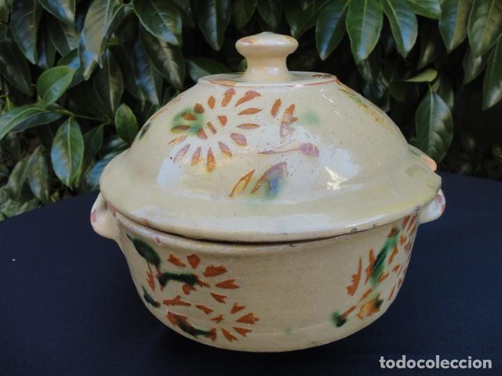 Antigüedades: Alfarería catalana: Sopera de La Bisbal - Foto 5 - 159647530