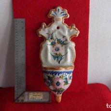 Antigüedades: BENDITERA,CERAMICA,GRAN TAMAÑO,TIPO CISTERCIENSE. Lote 159662982