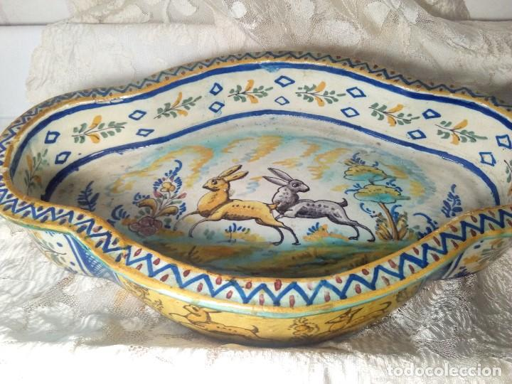 Antigüedades: SIGLO XVIII RARA Y ÚNICA FUENTE DE TRIANA, PERFECTO ESTADO, GRAN TAMAÑO - Foto 2 - 159671982