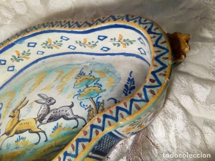 Antigüedades: SIGLO XVIII RARA Y ÚNICA FUENTE DE TRIANA, PERFECTO ESTADO, GRAN TAMAÑO - Foto 3 - 159671982