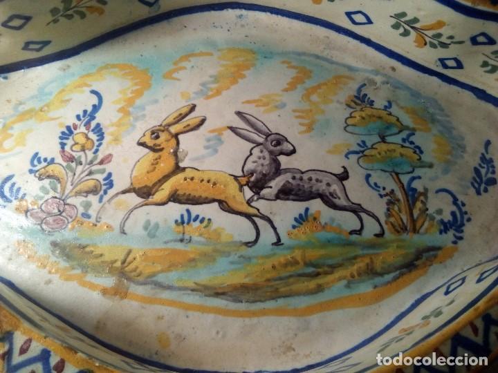 Antigüedades: SIGLO XVIII RARA Y ÚNICA FUENTE DE TRIANA, PERFECTO ESTADO, GRAN TAMAÑO - Foto 6 - 159671982
