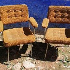 Antigüedades: SILLONES ANTIGUOS PAREJA DE 2 UDS. . Lote 159678382