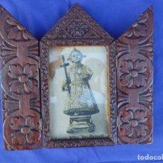 Antigüedades: PRECIOSO RELICARIO FINALES DEL XIX. Lote 159695998