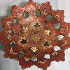 Antigüedades: BRONCE ESMALTADO CLOISONNE. Lote 159698394