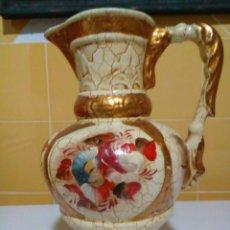 Antigüedades: ANTIGUO FLORERO JARRON DE PORCELANA CON ESCENAS. Lote 159731326