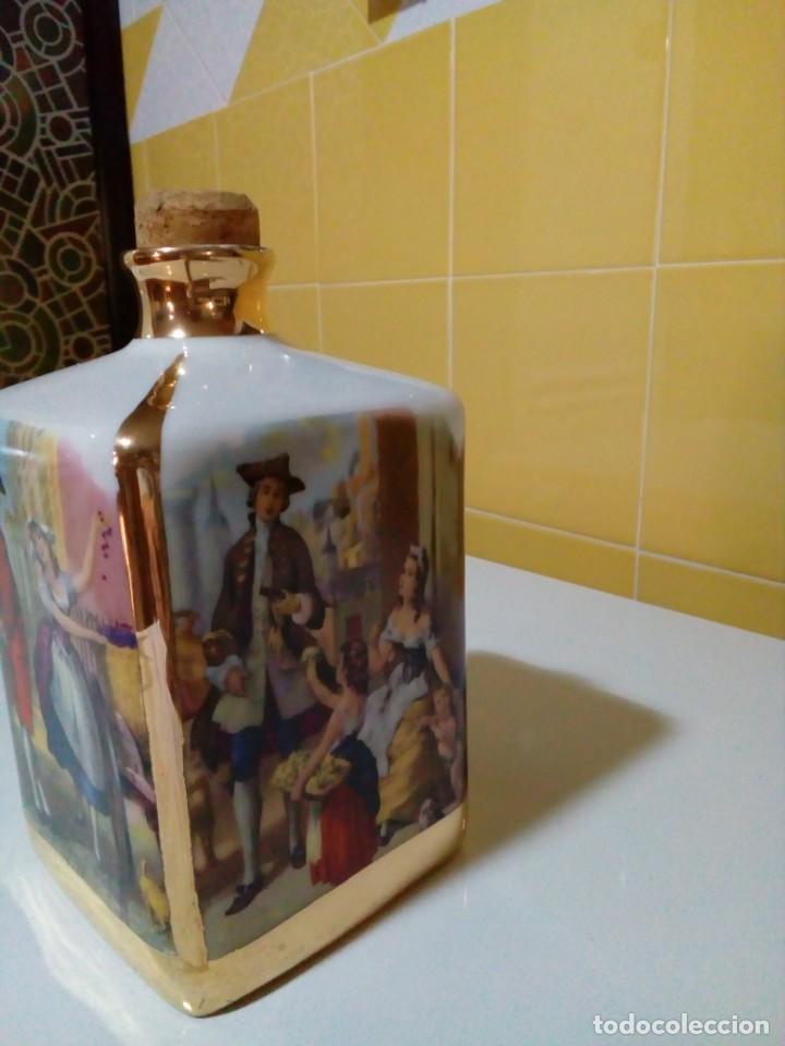 Antigüedades: BOTELLA FRANCESA DE PORCELANA LIMOGES - Foto 6 - 159731554