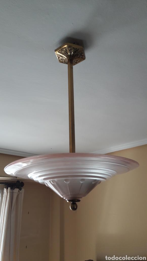 Antigüedades: Lámpara art deco - Foto 3 - 159755549