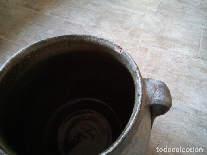 Antigüedades: * OLLA DE CERÁMICA NEGRA. PUCHERO (RF:BJ/h) - Foto 5 - 234813670