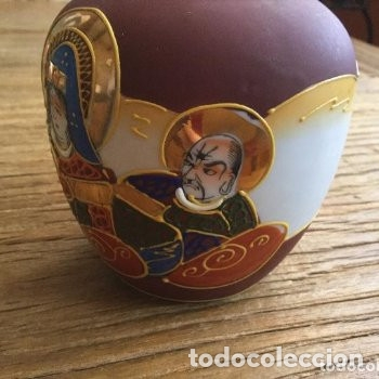 Antigüedades: Jarrón de porcelana japonesa EIHO grade A.Made in Japan - Foto 5 - 159613390