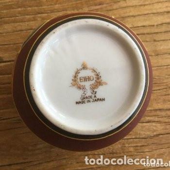 Antigüedades: Jarrón de porcelana japonesa EIHO grade A.Made in Japan - Foto 7 - 159613390