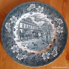 Antigüedades: PLATO DE PORCELANA INGLESA ROYAL TUDOR WARE STAFFORDSHIRE, AÑOS 70-80. Lote 159805486