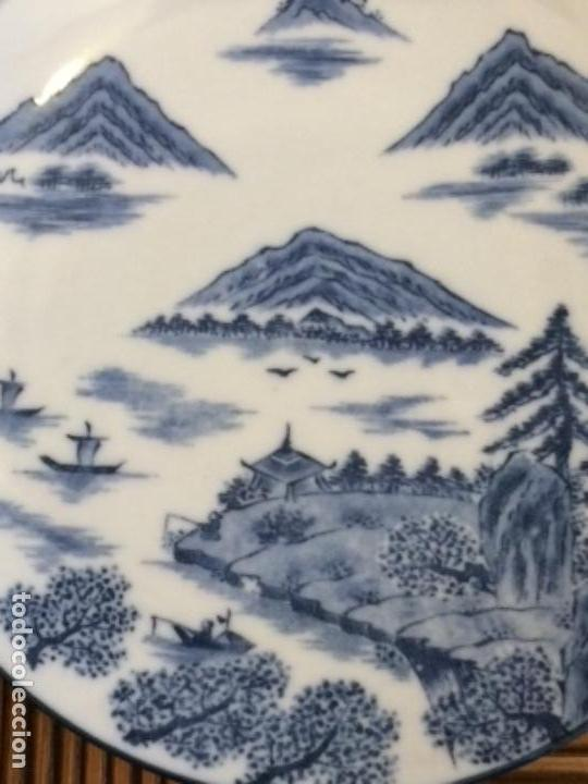 Antigüedades: PLATO PORCELANA JAPONESA SIGLOXX - Foto 2 - 159821702