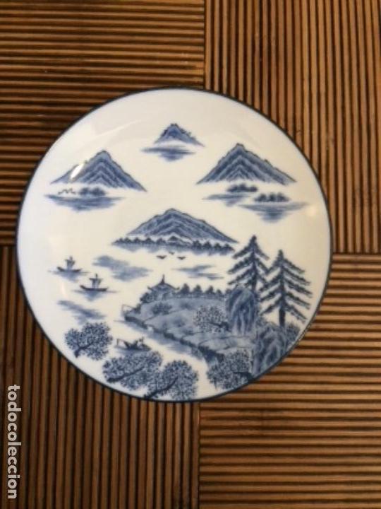 PLATO PORCELANA JAPONESA SIGLOXX (Antigüedades - Porcelana y Cerámica - Japón)