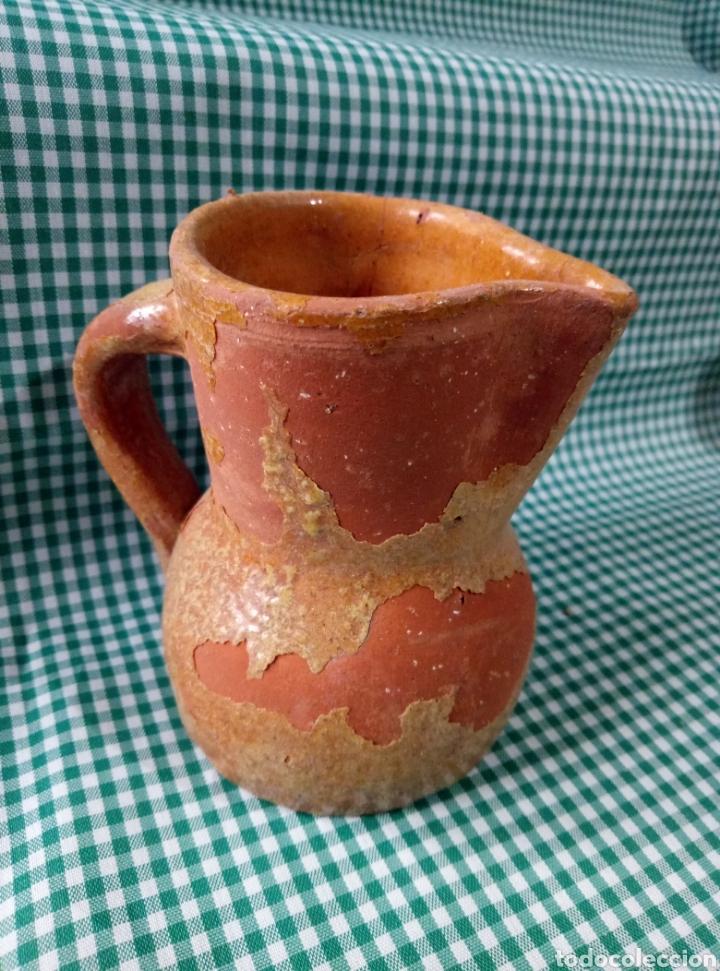 Antigüedades: Jarra vino barro - Foto 2 - 159826344