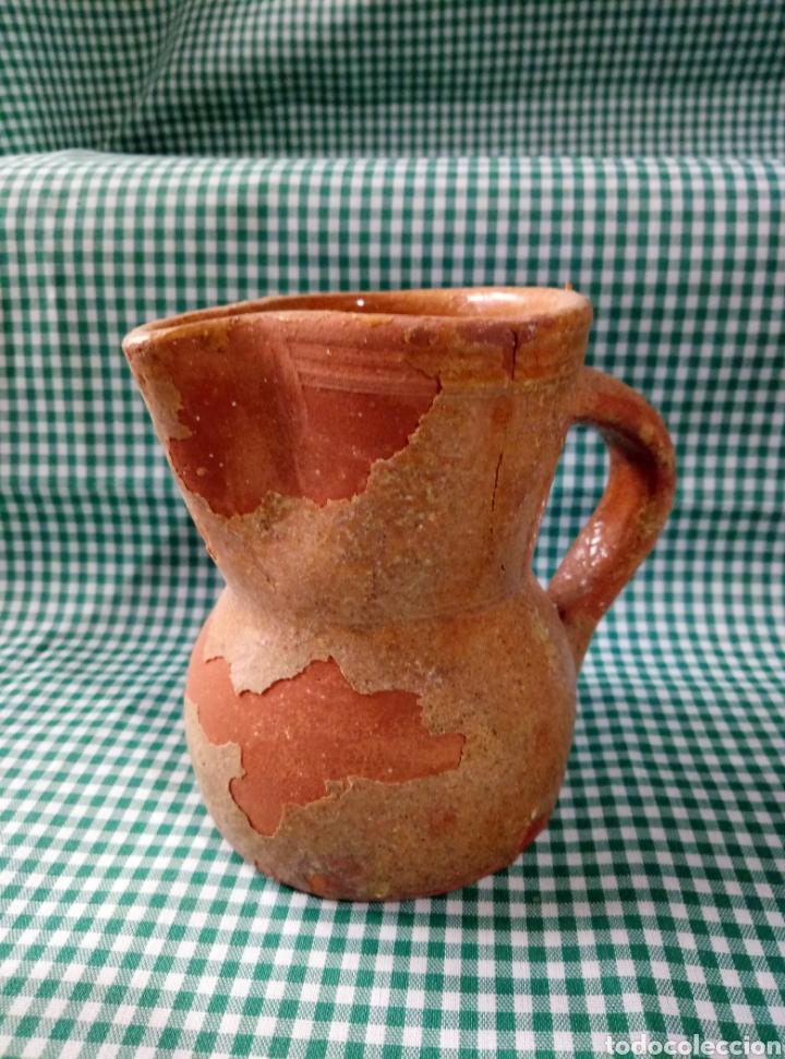 Antigüedades: Jarra vino barro - Foto 3 - 159826344