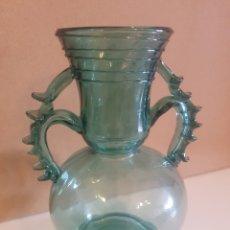 Antigüedades: JARRON CRISTAL SOPLADO. Lote 159832594