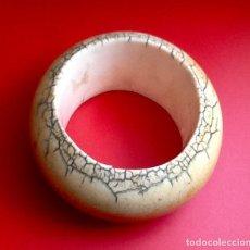 Antigüedades: PULSERA ANTIGUA DE MARFIL DE ELEFANTE. SUDAFRICA. . ENVIO CERTIFICADO INCLUIDO.. Lote 159836186