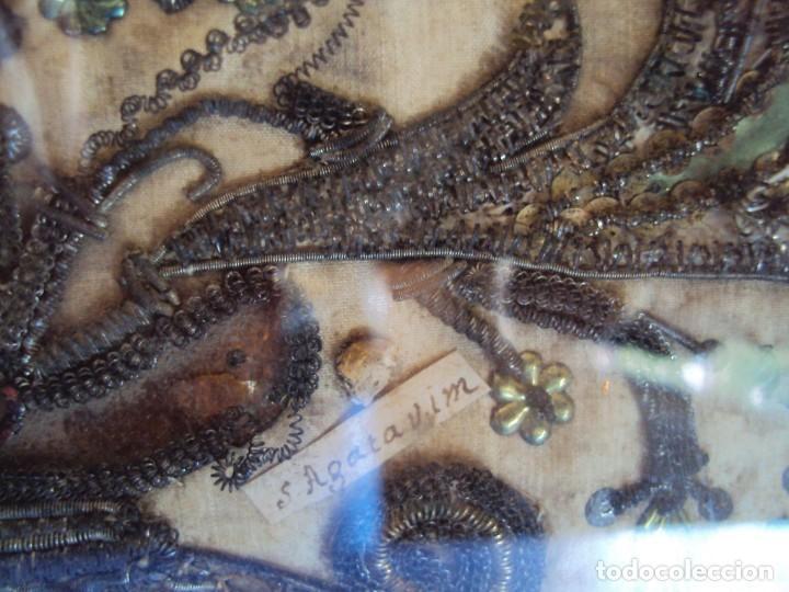 Antigüedades: (ANT-190469)ANTIGUO RELICARIO - 10 RELIQUIAS - Foto 10 - 159859178