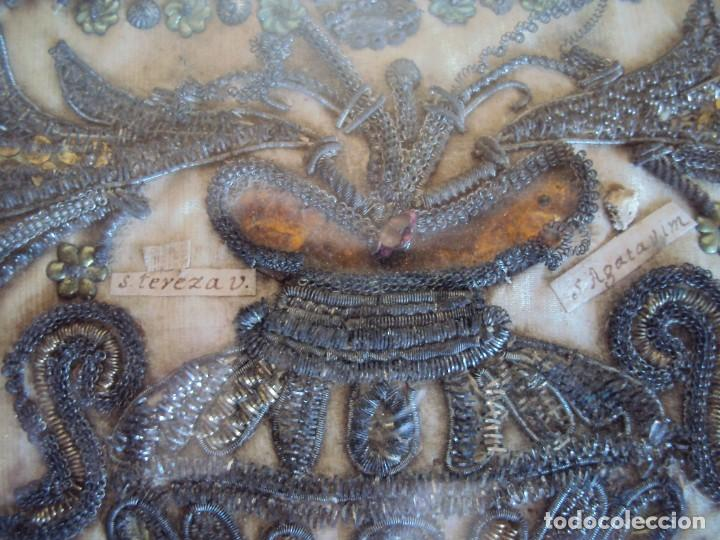 Antigüedades: (ANT-190469)ANTIGUO RELICARIO - 10 RELIQUIAS - Foto 13 - 159859178