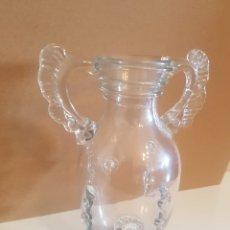 Antigüedades: JARRON CRISTAL SOPLADO. Lote 159860934