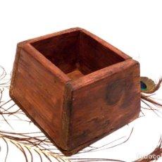 Antigüedades: ANTIGUO CELEMÍN, MEDIDA GRANO, MEDIDA CEREALES. Lote 159871386