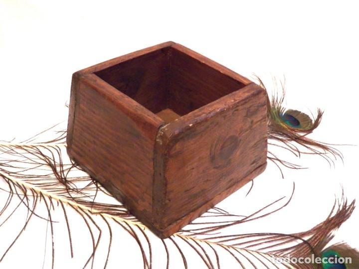 Antigüedades: Antiguo Celemín, Medida Grano, Medida Cereales - Foto 2 - 159871386