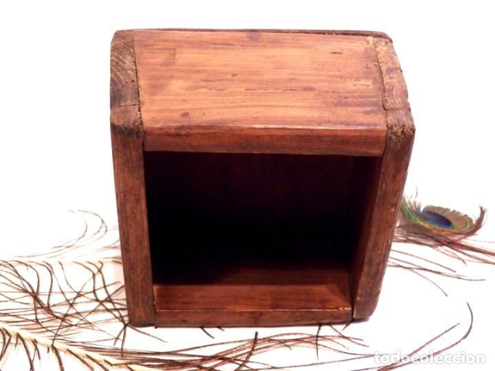 Antigüedades: Antiguo Celemín, Medida Grano, Medida Cereales - Foto 4 - 159871386