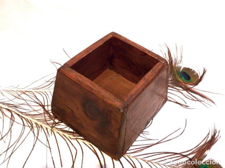 Antigüedades: Antiguo Celemín, Medida Grano, Medida Cereales - Foto 5 - 159871386