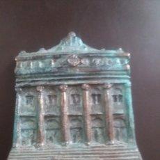 Antigüedades: BOLSA DE MADRID,EN BRONCE.. Lote 159873612