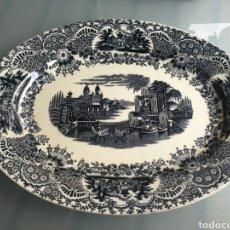 Antigüedades: BANDEJA ANTIGUA DE LA CARTUJA. PERFECTO ESTADO. Lote 159885496