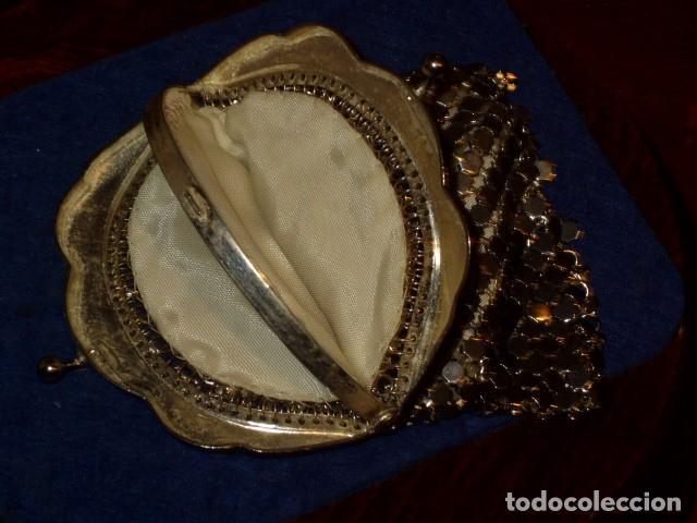 Antigüedades: MONEDERO DE MALLA 2 COMPARTIMENTOS,SIN USO. - Foto 7 - 159900542