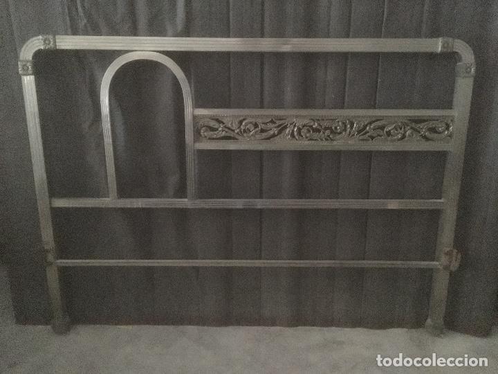 Antigüedades: CAMA DE METAL - Foto 2 - 159960774