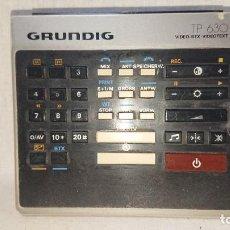 Antigüedades: ANTIGUO MANDO DE TELEVISIÓN GRUNDING TP 630 . Lote 159965962