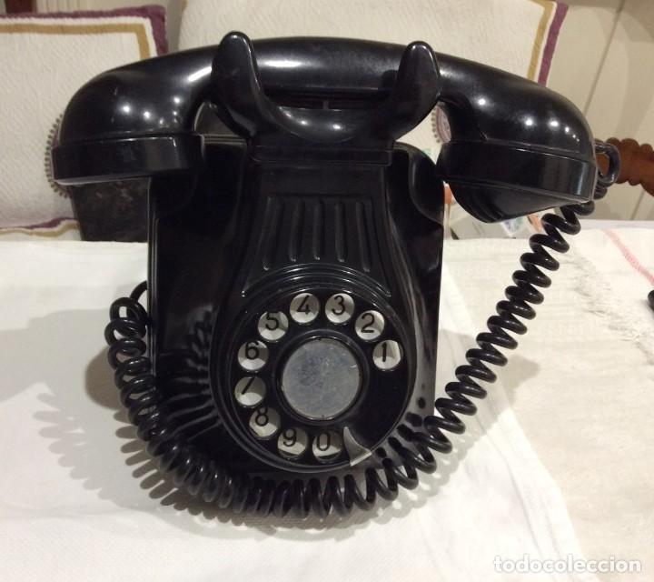 TELEFONO DE BAQUELITA (Antigüedades - Varios)